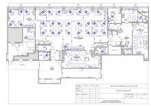 Схема расстановки мебели и оборудования