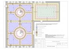 Схема потолков с привязками